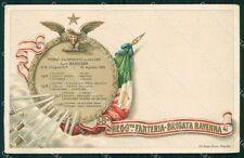 Militari Reggimentali 38º Reggimento Fanteria Brigata Ravenna cartolina XF4861