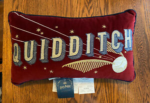Pottery Barn Kids HARRY POTTER Quidditch Golden Snitch Pillow NWT