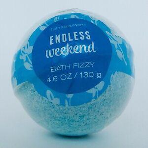 BATH & BODY WORKS ENDLESS WEEKEND BATH BOMB FIZZY 4.6oz 130g NEW!