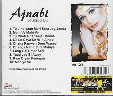 NASEEBO LAL - AJNABI VOL 21 - NEW PAKISTANI CD SONGS - FREE UK POST