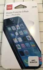 Verizon Display iPhone 5 / 5s Screen Protector - NEW!! ONLY 1 in PKG!