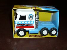 Vintage Captain America Rocket Cab Marvel Avengers Rare Marvelmania NEW MIB 1981