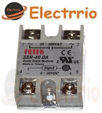 EL2524 RELE ESTADO SOLIDO 24V 380VAC 40A SSR-40 DA DC/AC PID 3 32VDC solid state