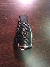 Carbonio Nero Pellicola Decorazione Chiave Mercedes Un B C D E G S Classe AMG