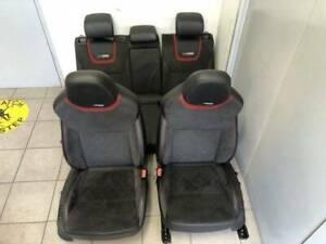 SKODA OCTAVIA RS WAGON 2017 FRONT & REAR SEAT  SET