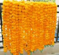 Wholesale 50 PC Indian Handmade Plastic Flower Garland Wedding Party Decorations