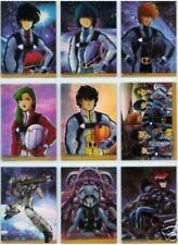 Robotech 2002 Hero Factory Holofoil complete 18 card set