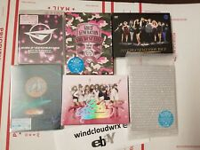SNSD GIRLS' GENERATION 4th TOUR Phantasia Girls peace 2 Concert Blu Ray DVD LOT
