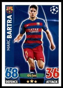 Match Attax Champions League 15/16 Marc Bartra FC Barcelona No. 241
