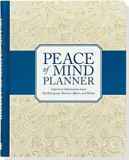 Peace Of Mind Planner Important Information Belongings Business Affairs & Wishes