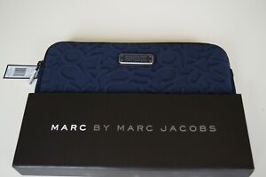MARC by Marc Jacobs Navy Tablet Case Cover Sleeve  PADDED SLEEVE CASE NEW