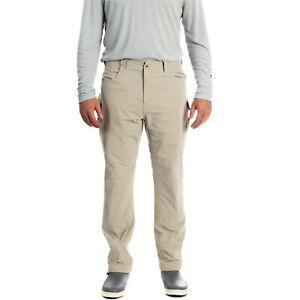 AFTCO Men's PACT Fishing Pant MP81 Khaki NWT Sizes 32, 34, 36, 38, 40