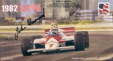 1982sa McLAREN COSWORTH MP4B DETROIT F1 Cover signed JOHN BARNARD