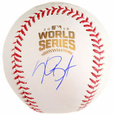 Kris Bryant Cubs Signed 2016 World Series Baseball Fanatics Hologram #2616213