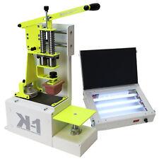 Machine de tampographie + Insoleuse UV + Kit encre   marquage sur objets