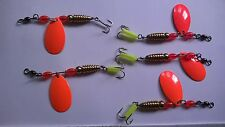 5 luccio / Trota / Perch / Bass / Pollack / cod / coalfish Spinners