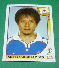 N°536 TSUNEYASU MIYAMOTO JAPON PANINI FOOTBALL JAPAN KOREA 2002 COUPE MONDE FIFA