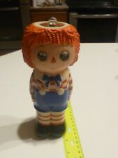 Vintage 1974 Raggedy Anne plastic flash light figurine