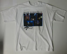 MICHAEL JACKSON Who's DANGEROUS 1992 US PROMO Only T-SHIRT Bob Jones MJJ (XL)