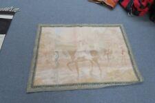 "Vintage Alonzo Perez European Woven Jacquard Tapestry Panel 30"" x 40"""
