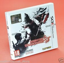 RESIDENT EVIL 3D THE MERCENARIES NINTENDO 3DS nuovo in italiano