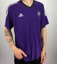 Vintage ADIDAS R.S.C. Anderlecht T Shirt | Original Sport Retro | 2XL XXL Purple