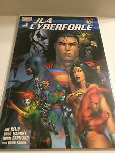 2005 DC Comics JLA Cyberforce #1 (One Shot)