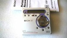 VINTAGE SONY MD MINIDISC WALKMAN RECORDER MZ-R700PC