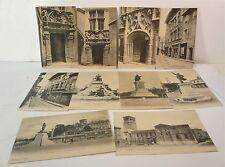 Lot de 10 cartes-postales, CP de Valence