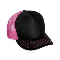 09dfc6667ce 1 Dozen (12) Wholesale Lot Neon Color Trucker Hat Hats - Assorted COLORS -