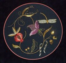 Alison Cole Jacobean Brilliance Goldwork/Stumpwork/Embroidery Pattern