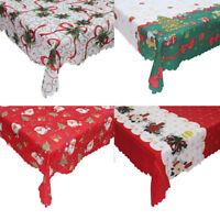Christmas Santa Claus Tablecloth  Table Decoration 150*180cm HA