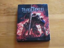 TRANSFORMERS IV Age Of Extinction Steelbook Blu-ray + DVD Edition FNAC RARE