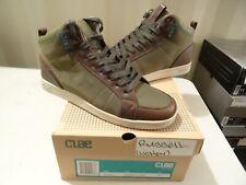 Clae X LICHEN Russell ARMY Brown Retro Fashion SKATE Sneaker Shoes SZ 11.5 MENS