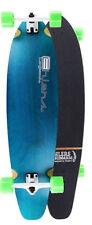 """Blue Kicktail Longboard Skateboard 40"""" x 9.75"""" Complete"""