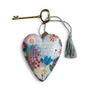 DEMDACO Friendship Loving Art Heart