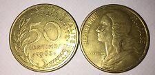 50 centimes LAGRIFFOUL 1963 col 4 plies