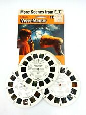 VINTAGE 1982 MORE SCENES FROM E.T. VIEW-MASTER 3-D / 3 REELS WITH CONTAINER
