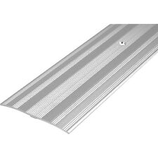 NEW Wide Carpet Plate Silver Each, metal edging, 810mm x 60mm