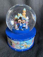 Disneyland Resorts Diamond Celebration Musical Snowglobe Celebrating 60 Years