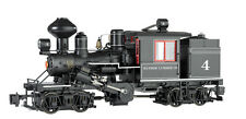 Bachmann G 2 Truck Climax Bayside Lmbr With Sound &  DCC Installed #86096 NEW