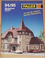 für Faller  -- Modellbau Katalog  1994/95 !