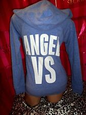 Victorias Secret Supermodel Essentials ANGEL VS Blue Hoodie XS