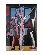 """PICASSO PABLO - THE THREE DANCERS, 1925 - Artwork Reproduction 14"""" x 11"""" (4168)"""