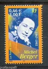 FRANCE - 2001, timbre 3395 - Michel Berger - neuf**