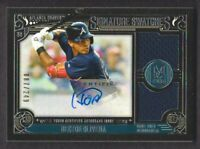 2016 Museum Collection Signature Swatches Dual Jersey Auto #HOL Hector Olivera