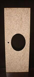 "Golden Sand Bathroom Vanity Oval Sink Base Granite Top 61"" Ask 4 Extra Holes"
