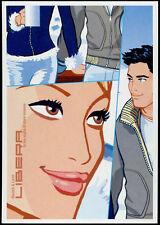 cartolina pubblicitaria PROMOCARD n.3663 BAUSCH & LOMB LENTI A CONTATTO
