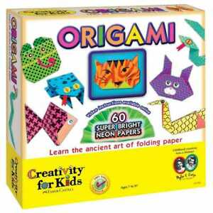 Creativity for Kids Neon Origami Craft Kit