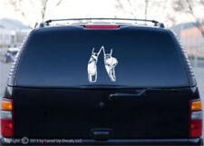 Ballerina Ballet dancer shoes car window vinyl decal lg